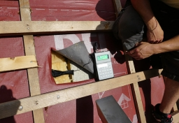 Holzfeuchtemessungen-Sparren